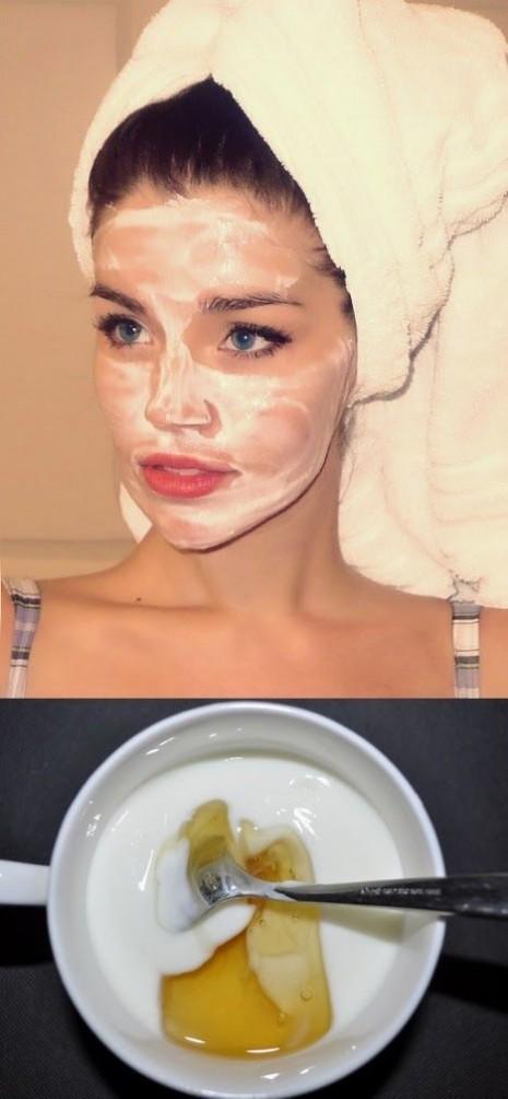 Γρήγορη μάσκα με γιαούρτι, για λαμπερό δέρμα