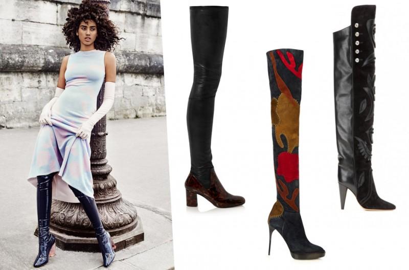 b47d247b7c5 Πώς φοριούνται οι μπότες πάνω από το γόνατο; | womannow.gr | Oμορφιά ...