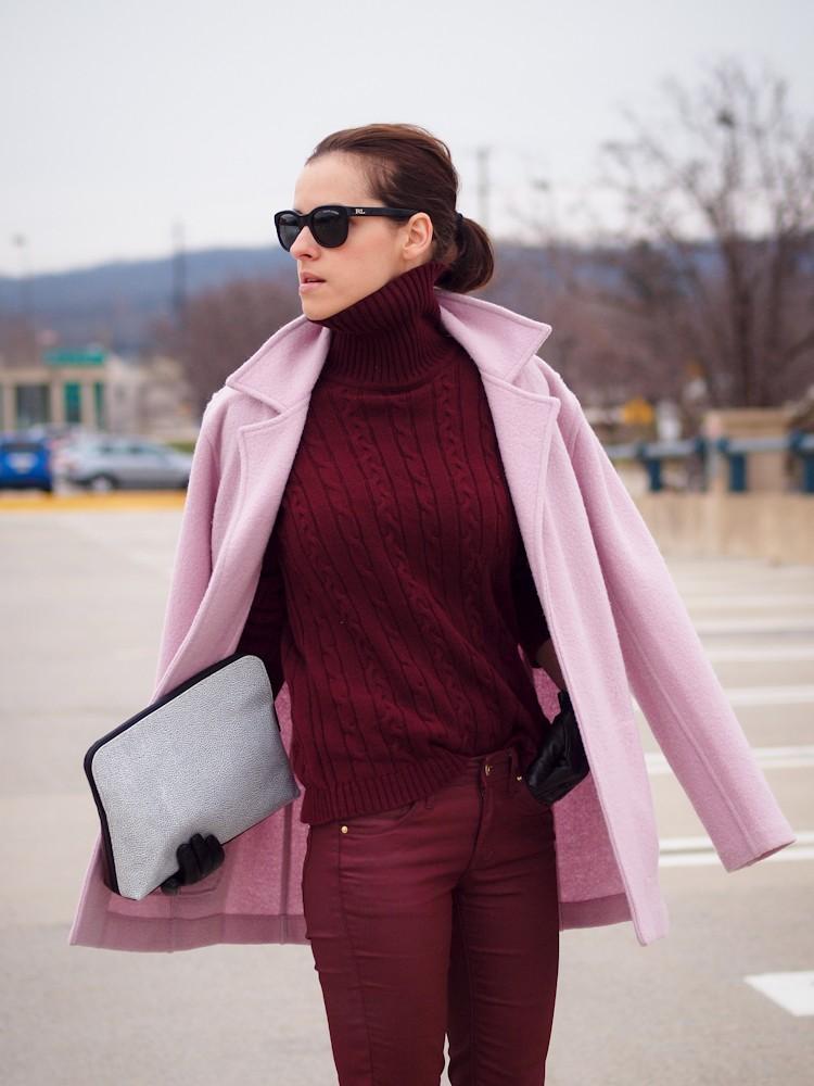 5e794b71d04 Τα χρώματα του χειμώνα 2016: Πώς φοράμε μπορντώ και βουργουνδί ...