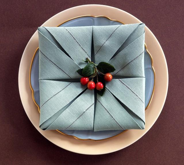 10 ιδέες για να διπλώσετε τις πετσέτες σας για το εορταστικό τραπέζι