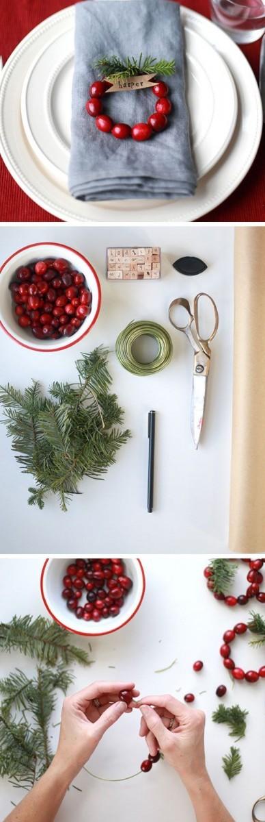 Πώς θα φτιάξετε μόνη σας κρίκους για πετσέτες για το γιορτινό τραπέζι