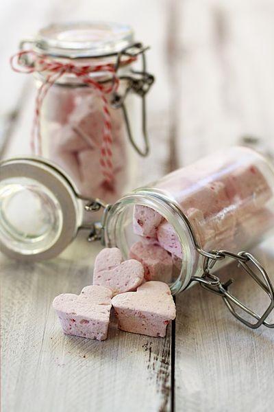 Σπιτικές μαλακές καραμέλες μαρσμέλοους (marshmallows)
