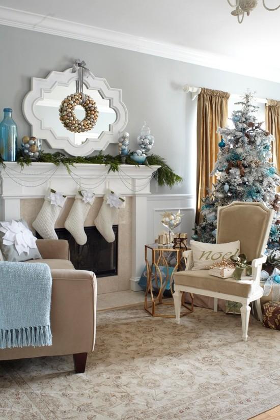 10 ιδέες: Χριστουγεννιάτικη διακόσμηση μόνο για το τζάκι
