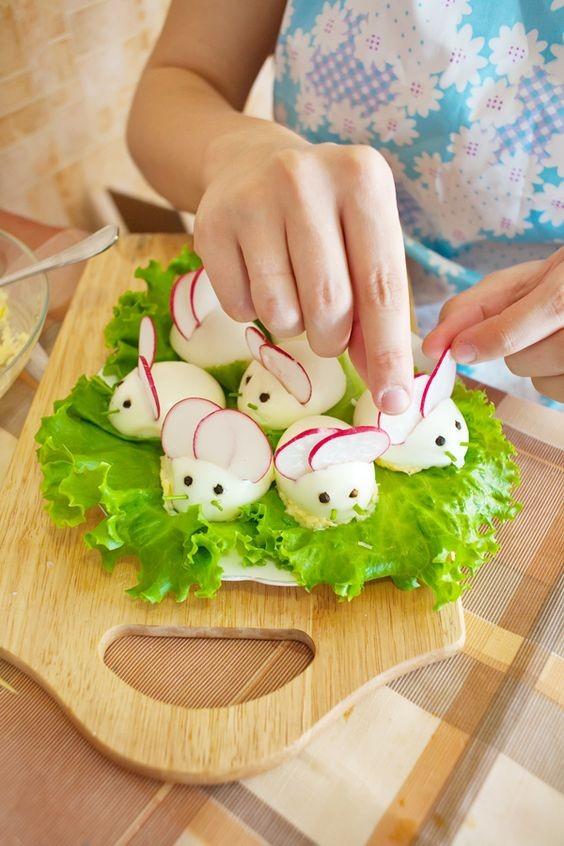 Πρωτότυπα πασχαλινά ορεκτικά με αυγά!