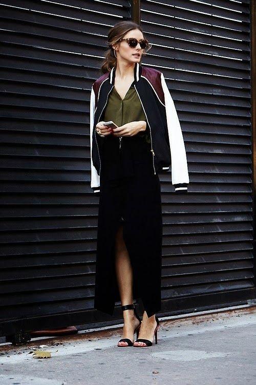 Αντέγραψε το look της Ολίβια Παλέρμο με το bomber jacket