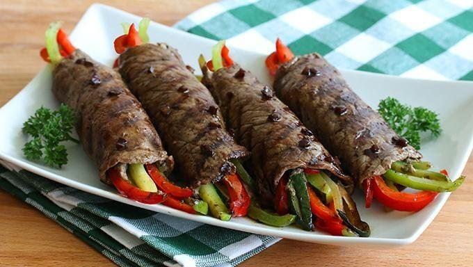 Μπριζολάκια με λαχανικά