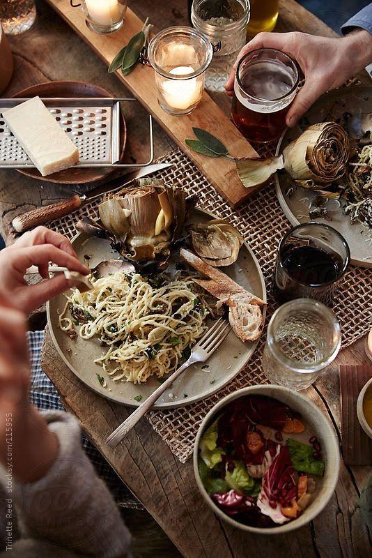 Εύκολο δείπνο για φίλους, με μενού 3 πιάτων