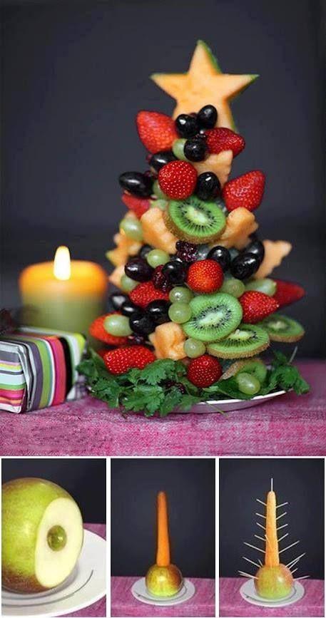 7 αλμυρά και γλυκά χριστουγεννιάτικα δεντράκια για το τραπέζι σας