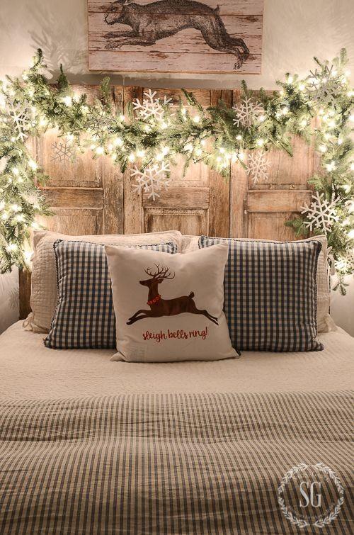 Χριστουγεννιάτικη διακόσμηση για τα υπνοδωμάτια