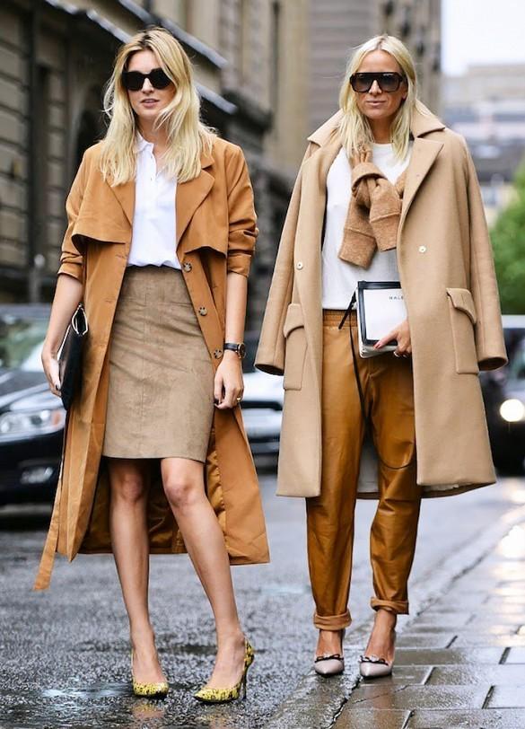 15 τρόποι και συνδυασμοί για να φορέσεις το καμηλό παλτό σου ... cf96a55d870