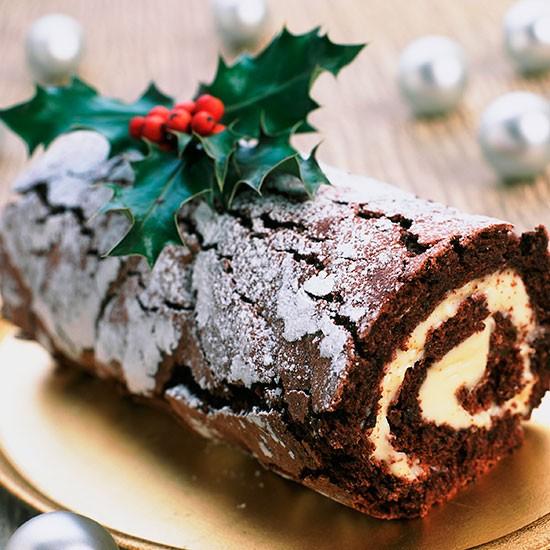 Χριστουγεννιάτικος κορμός (συνταγή)
