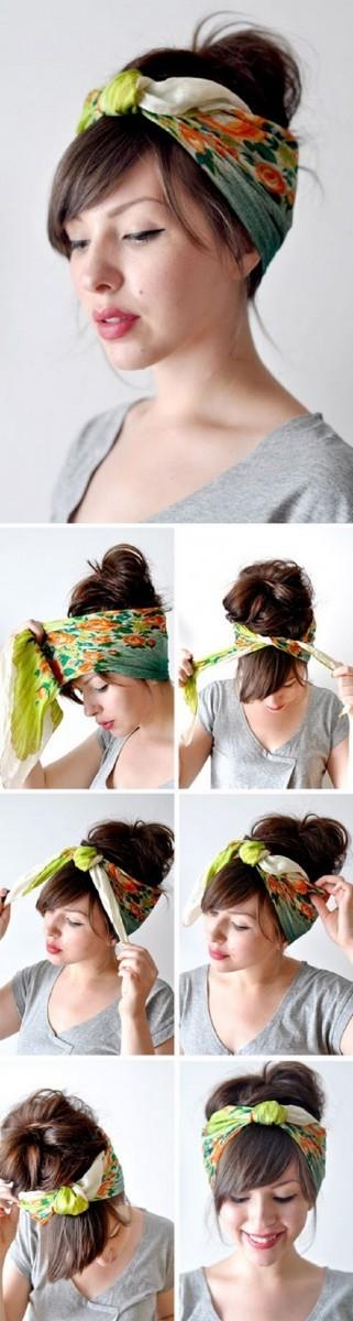 7 τρόποι για να βάλουμε μαντήλια στο κεφάλι και πώς τα δένουμε