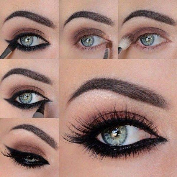 Μακιγιάζ βήμα-βήμα: Αμυγδαλωτά μάτια, με έντονο underliner