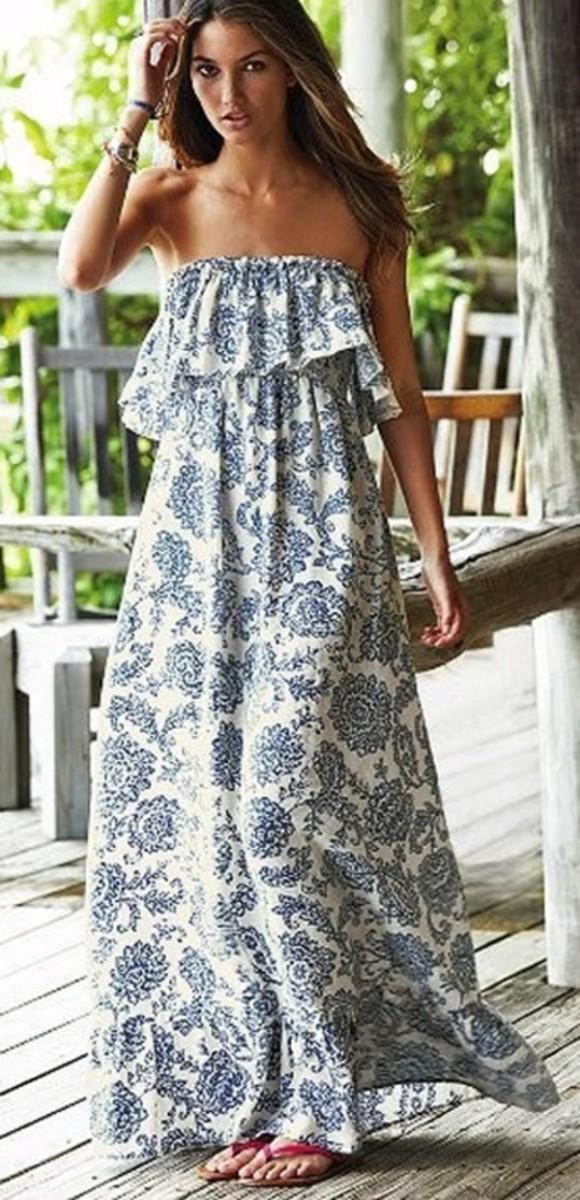 10 looks για να φορέσουμε με στυλ το μάξι καλοκαιρινό φόρεμα