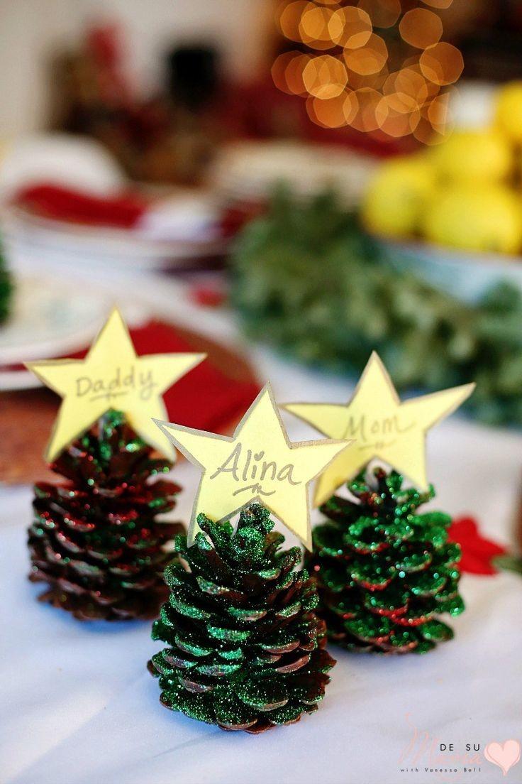 Χριστουγεννιάτικο τραπέζi: Ιδέες για τα ονόματα των καλεσμένων σου