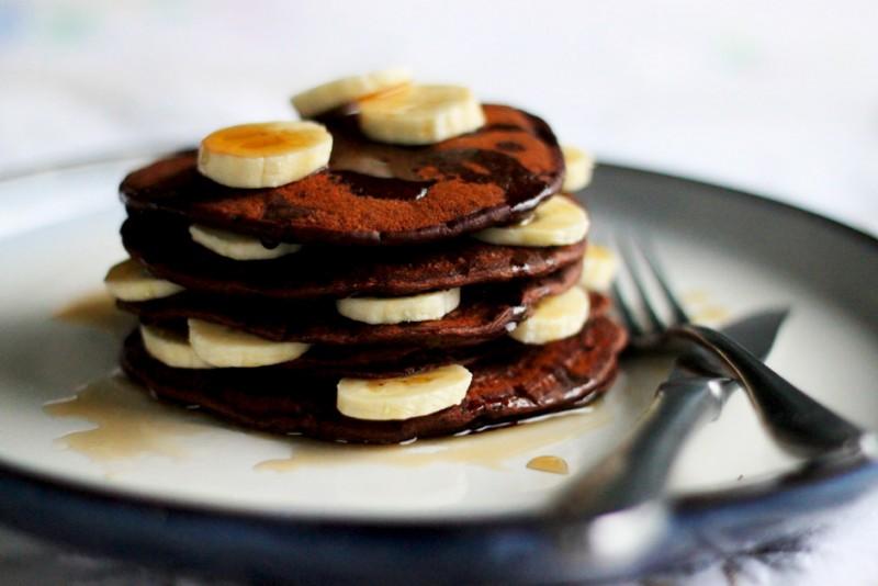 Συνταγή για pancakes με σοκολάτα