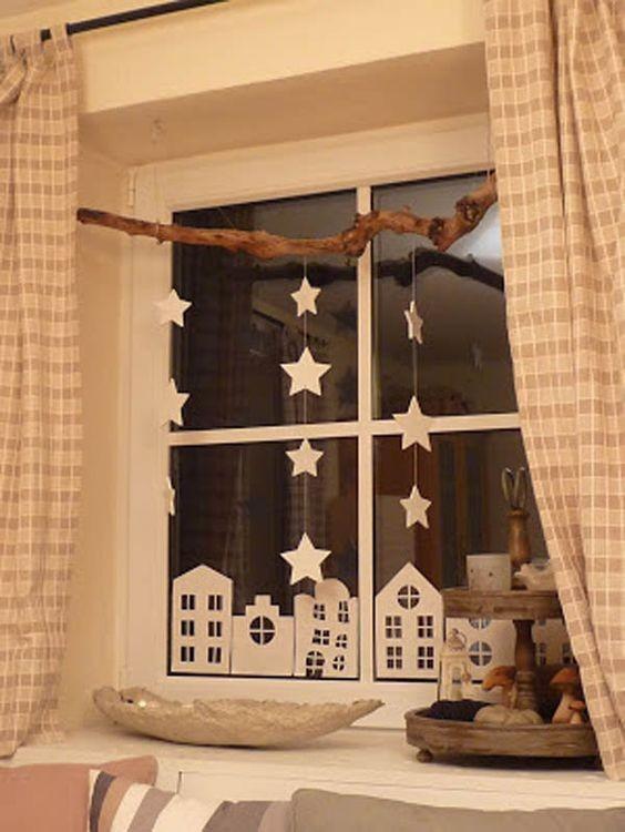 Καταπληκτικές ιδέες χριστουγεννιάτικης διακόσμησης για τα παράθυρα