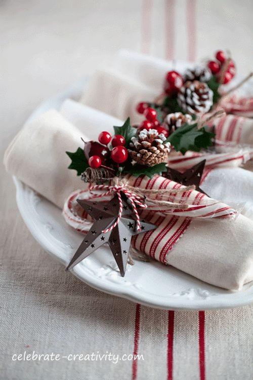 10 ιδέες για τις πετσέτες σας στο πρωτοχρονιάτικο τραπέζι