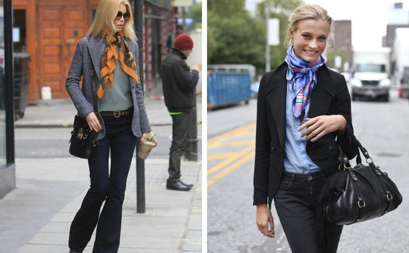 20 στιλάτοι τρόποι για να φορέσεις το μαντήλι, την πασμίνα, το κασκόλ