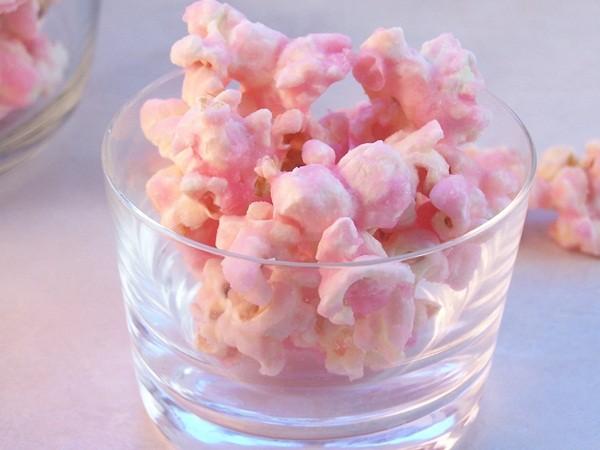 Πώς θα φτιάξετε υπέροχα ροζ ποπ κορν!