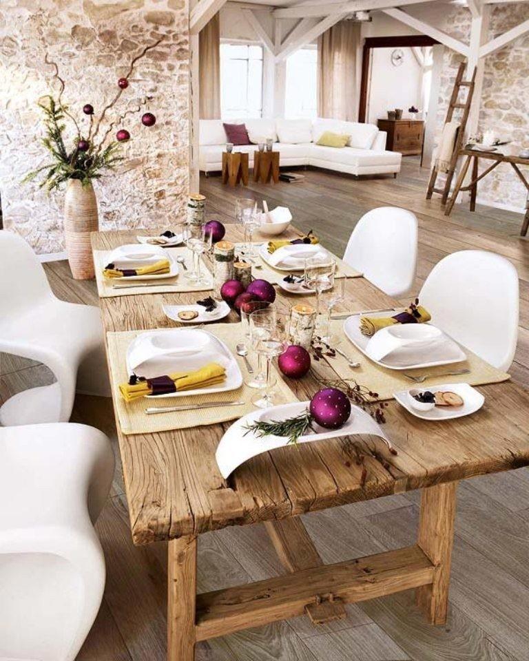 Art de la table:11 ιδέες για να στρώσετε το χριστουγεννιάτικο τραπέζι