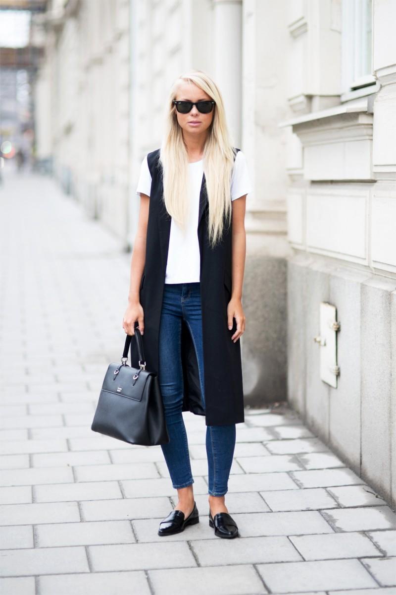 Ανοιξιάτικοι συνδυασμοί με τζιν παντελόνι