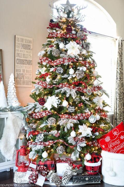 20 χριστουγεννιάτικα δέντρα στολισμένα 16adaad4ee2