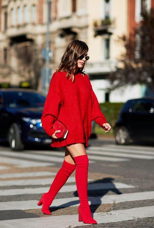 Πώς θα φορέσεις φέτος τις over the knee μπότες σου (πάνω από το γόνατο)