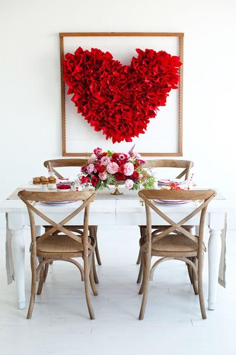 Διακόσμησε το σπίτι σου για την ημέρα του Αγίου Βαλεντίνου