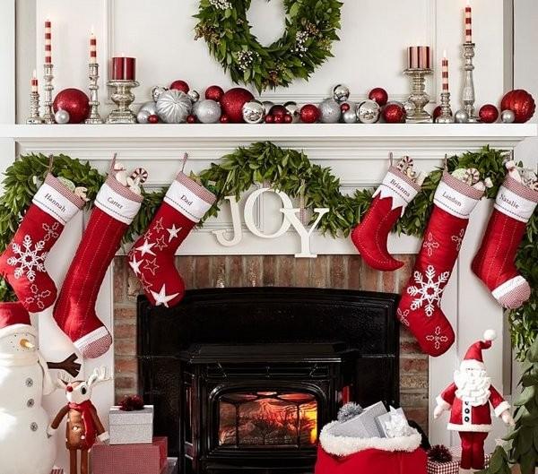 Πώς θα διακοσμήσετε χριστουγεννιάτικα το τζάκι