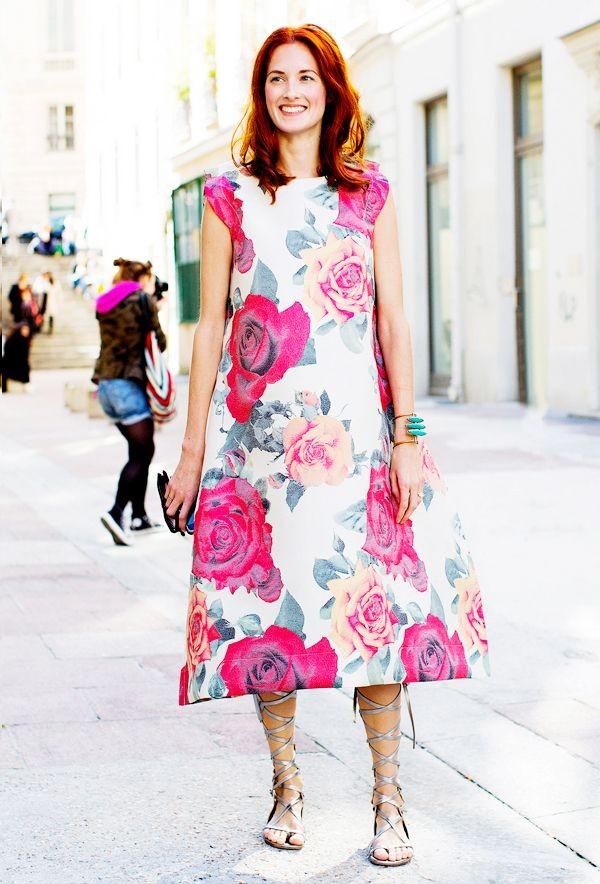 Πώς θα φορέσουμε φέτος τα floral (φορέματα, φούστες, παντελόνια)