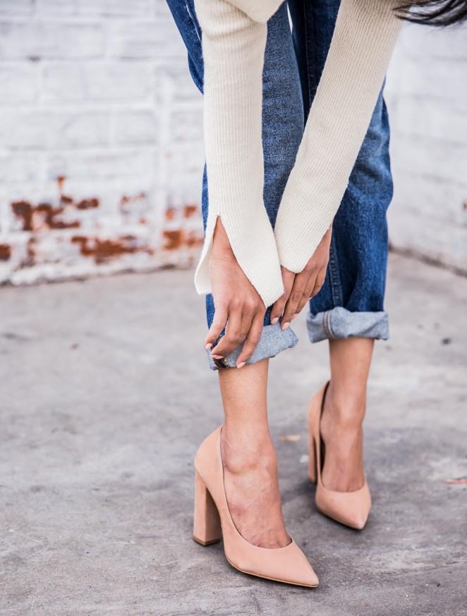 Με τι παπούτσια θα συνδυάσεις τα στενά τζιν παντελόνια;