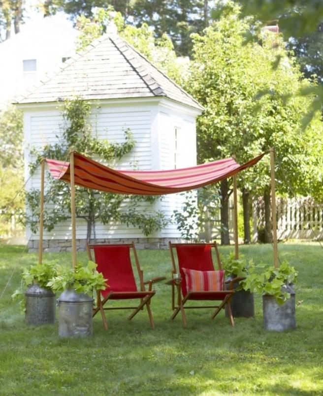 Καλοκαιρινή διακόσμηση βεράντας και κήπου: 12 ιδέες για όλα τα σπίτια
