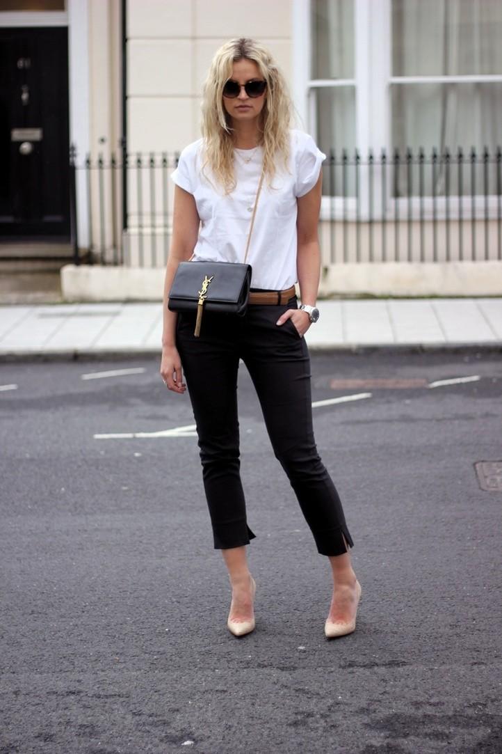 Μαύρο παντελόνι: 12 τρόποι για να το φορέσεις