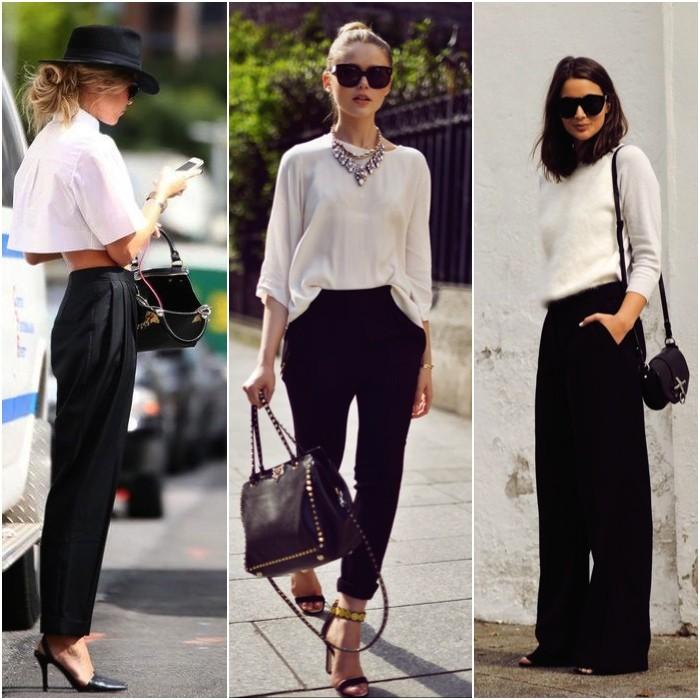 Μαύρο παντελόνι  12 τρόποι για να το φορέσεις  7754bea6910