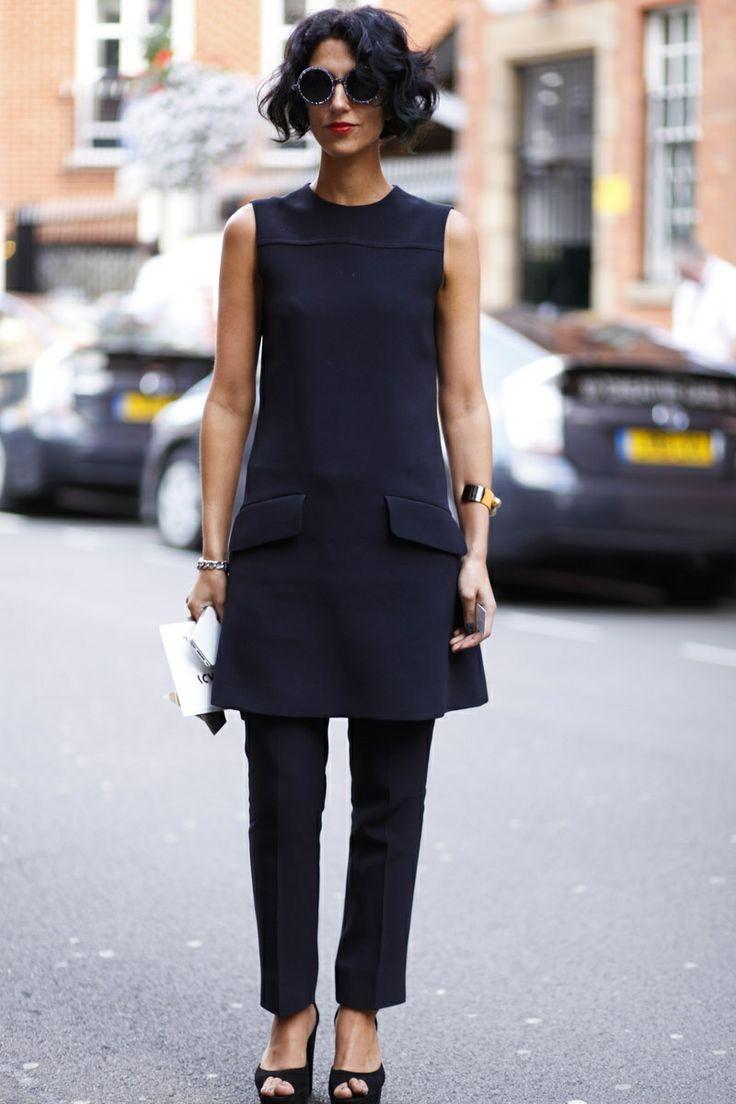 2ecda22ab1af Μαύρο παντελόνι: 12 τρόποι για να το φορέσεις | womannow.gr ...