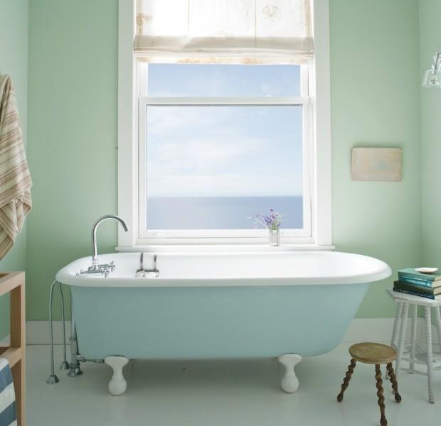Μπάνιο: Ποια χρώματα κάνουν το μπάνιο να φαίνεται καθαρό
