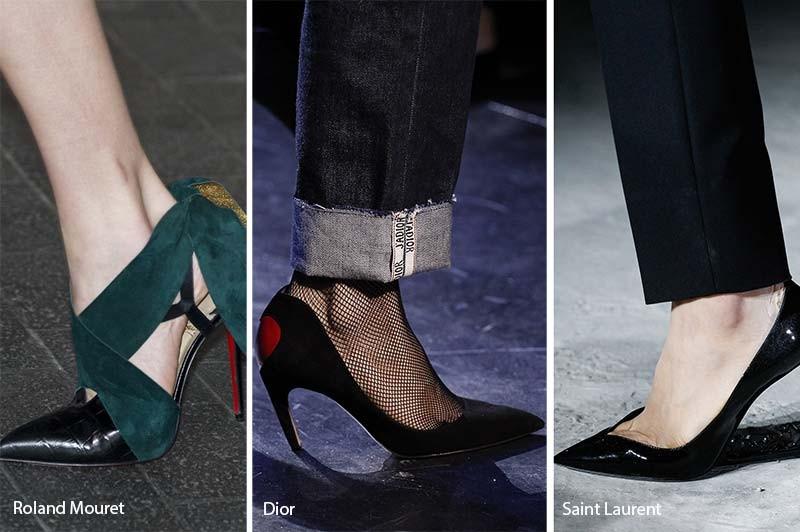 734795f5bed Τα παπούτσια του χειμώνα γίνονται θηλυκά, λεπτεπίλεπτα, από σατέν, βελούδο,  λαμπερά και sparkle, με μικρά κρύσταλλα και στρας. Τακούνια στιλέτο, αλλά  και ...
