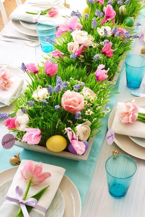 Ιδέες για να διακοσμήσετε το πασχαλινό σας τραπέζι