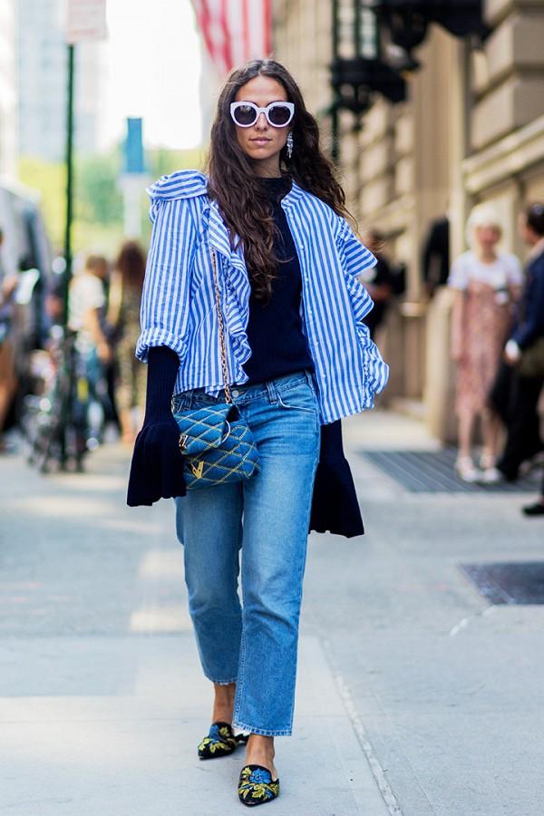 12 looks με τα νέα τζιν που θα φορέσεις την άνοιξη και το καλοκαίρι 2017