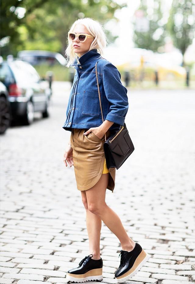 20 looks για να φορέσεις το τζιν μπουφάν σου από το πρωί ως το βράδυ