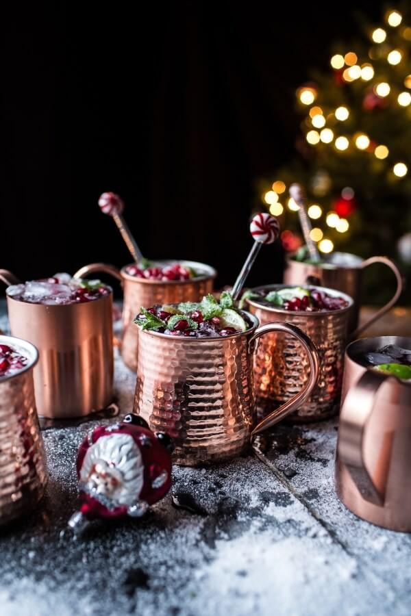 Χριστουγεννιάτικο ποτό με ρόδι