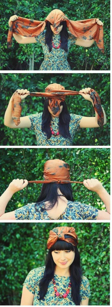 Μαντήλια στο κεφάλι: Δες πώς θ΄αποκτήσεις αξεπέραστο στυλ