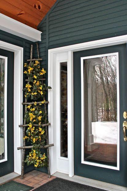 Ιδέες για πασχαλινή εξωτερική διακόσμηση του σπιτιού