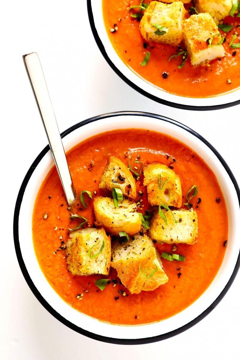 Καλοκαιρινή δροσερἠ σούπα: Γκασπάτσο αυθεντικό