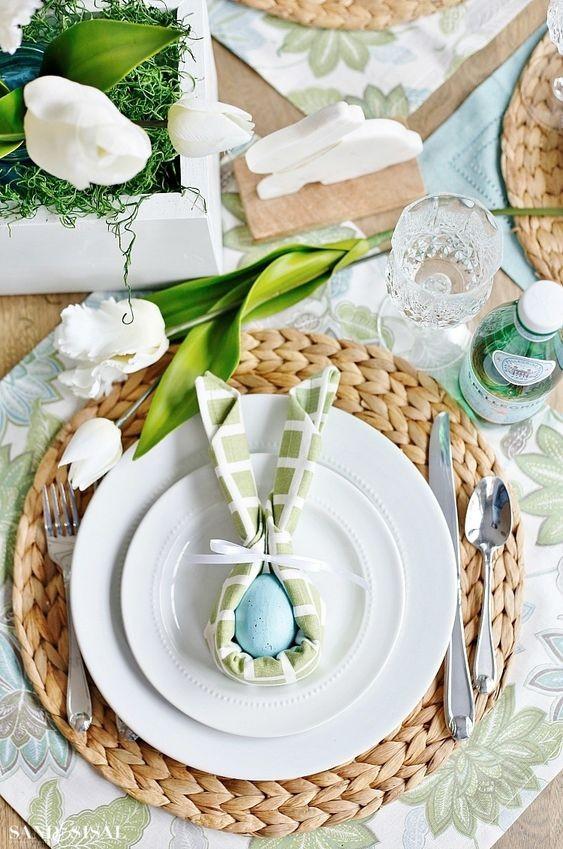 Πασχαλινό art de la table σε παλ χρώματα