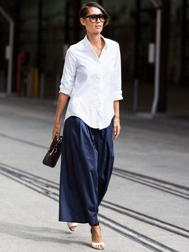 Πώς να φορέσεις το άσπρο πουκάμισο το καλοκαίρι