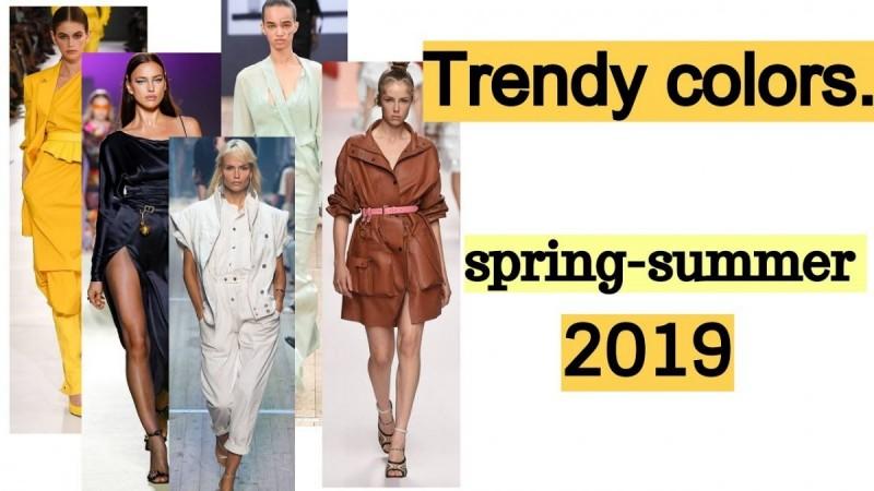 Τα νέα χρώματα που θα φορέσουμε την άνοιξη και το καλοκαίρι