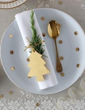 Πως θα διακοσμησουμε τα γιορτινά μας τραπέζια; Σας έχουμε πολλές ιδέες! 🥂Link in bio 🔺#christmasdecor #christmasartdelatable