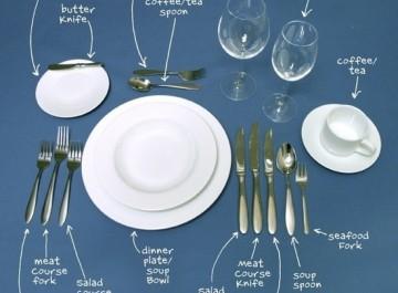 Πώς στρώνουμε ένα επίσημο τραπέζι;